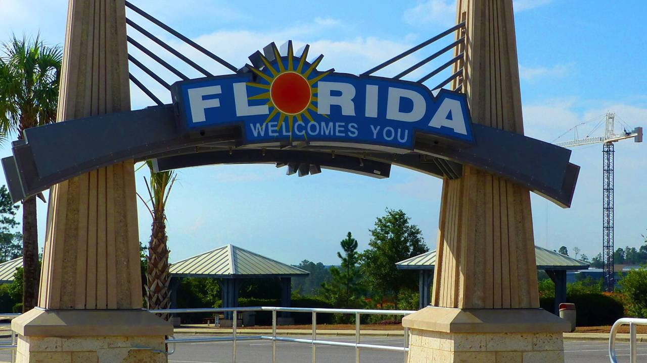 Florida welcomes you